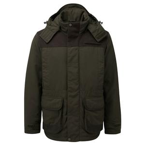 Image of Shooterking Hardwoods Winter Jacket - Dark Olive/Brown