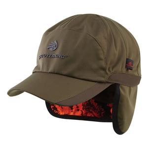 Image of Shooterking Huntflex Reversible Cap - Brown Olive/Blaze