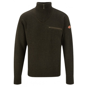 Image of Shooterking Men's Jumper - Olive Brown