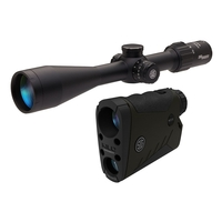 Sig Sauer BDX Combo Kit - Kilo 2400BDX Rangefinder And Sierra 3 6.5-20x52 Rifle Scope