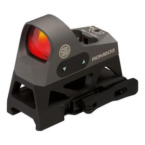 Image of Sig Sauer Romeo 3 Mini Reflex Sight - 1x25 (1.0 MOA) - 3 MOA Red Dot