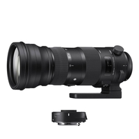 Sigma 150-600mm f5-6.3 DG OS HSM S Lens + 1.4 X  TC-1401 Convertor - Canon Fit