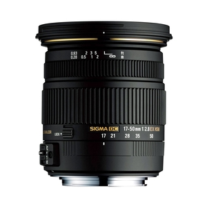 Image of Sigma 17-50mm f2.8 EX DC OS HSM Lens - Canon Fit