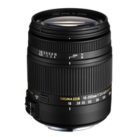 Sigma 18-250mm f3.5-6.3 DC Macro OS HSM Lens - Nikon Fit