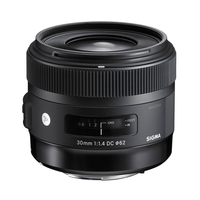 Sigma 30mm f1.4 DC HSM Art Lens - Canon Fit