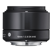 Sigma 19mm f2.8 DN | A - Sony E Fit - Black