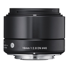 Image of Sigma 19mm f2.8 DN | A - Sony E Fit - Black