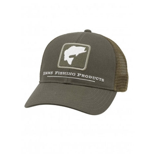 Image of Simms Bass Trucker Cap - Olive