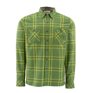 Image of Simms Black's Ford Flannel Shirt - Grove Plaid