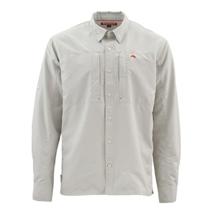 Image of Simms Bugstopper Long Sleeved Shirt - Ash