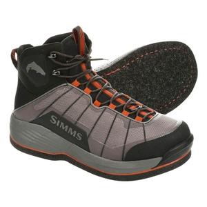 Image of Simms Flyweight Wading Boots - Felt Sole - Steel Grey