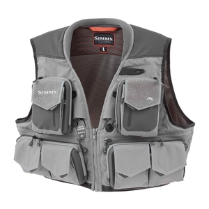 Image of Simms G3 Guide Vest - 2018 Model - Steel