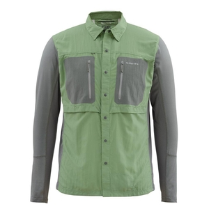 Image of Simms GT Tricomp Long Sleeved Shirt - Mantis