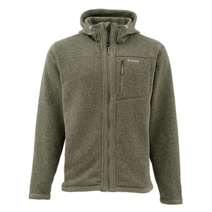 Image of Simms Rivershed Full Zip Hoody - Loden