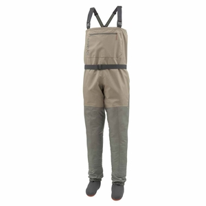 Image of Simms Tributary Stockingfoot Waders - Tan