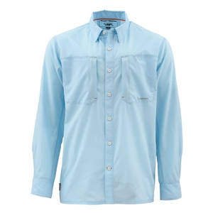 Image of Simms Ultralight Long Sleeved Shirt - Light Blue