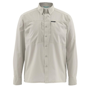 Image of Simms Ultralight Long Sleeved Shirt - Putty