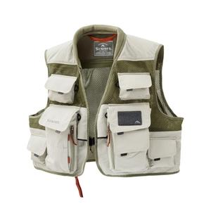 Image of Simms Vertical Mesh Vest - Khaki