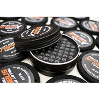 Snappy Targets Pellet Tin with 3x Neoprene Pellet Organiser - .177