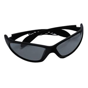Image of Snowbee Sports 'Wraparound' Polarised Sunglasses - Black (Frame) - Smoke (Lens)