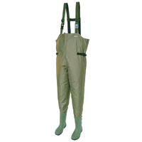 Snowbee 210D Nylon Chest Waders - Cleated Sole