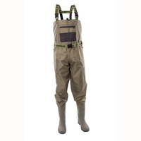 Snowbee 210D Wadermaster Nylon Chest Waders - Cleated Sole