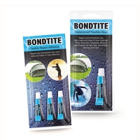 Snowbee Bondtite Flexible Repair Adhesive 3x5g