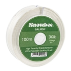 Image of Snowbee Braided Dacron Backing Line - 100m - White