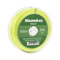 Snowbee Braided Dacron Backing Line - 100m
