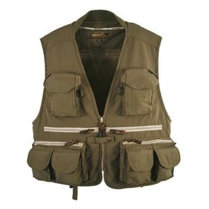 Image of Snowbee Classic Fly Vest - Olive Green
