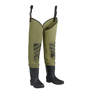 Image of Snowbee Classic Neoprene Cleated Bootfoot Thigh Waders