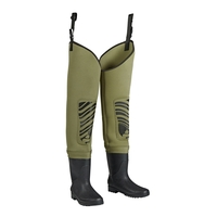 Snowbee Classic Neoprene Cleated Bootfoot Thigh Waders