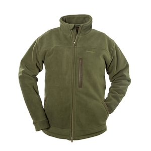 Image of Snowbee Country Fleece Jacket - 420g/m2 - Forest Green