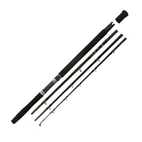 Snowbee 4 Piece Deep Blue Charter Travel Boat Rod - 7ft 6in 12-20lb Class
