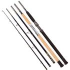 Snowbee 5 Piece Deep Blue Titanium Popping/Jigging Rod - 8ft  6in / 6ft 6in