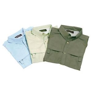 Image of Snowbee Long Sleeved Fishing Shirt - Sky Blue