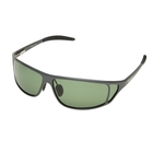 Image of Snowbee Magnalite Full Frame Polarised Sunglasses - Grey / Smoke