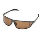 Image of Snowbee Magnalite Full Frame Polarised Sunglasses - Grey / Amber