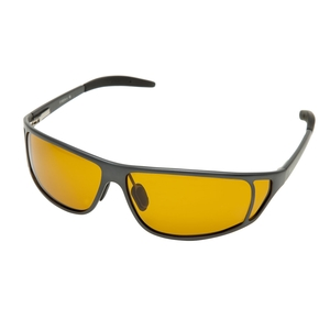 Image of Snowbee Magnalite Full Frame Polarised Sunglasses - Grey / Yellow