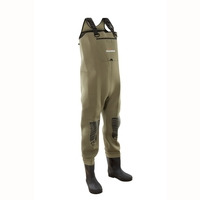 Snowbee Classic Neoprene Studded Felt Sole Bootfoot Chest Waders -