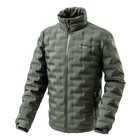 Snowbee Nivalis Down Jacket - Collar Model