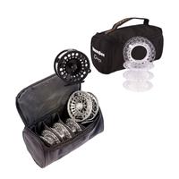 Snowbee Onyx Cassette Fly Reel - #5/7  plus 3 Spare Cassette Spools in Reel Case