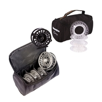Snowbee Onyx Cassette Fly Reel #7/9  plus 3 Spare Cassette Spools + Reel/Spool Case