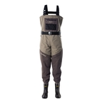 Image of Snowbee Prestige ST Breathable Bootfoot Combi-Felt Sole Chest Waders