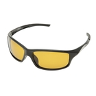 Image of Snowbee Prestige Streamfisher Sunglasses - Gloss Black / Yellow