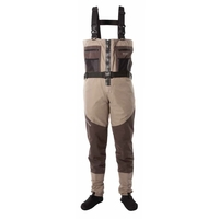 Snowbee Prestige ST Breathable Zip-Front Stockingfoot Chest Waders