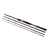 Snowbee Raptor 4 Piece Spinning Rod - 7ft 2in 7-25g