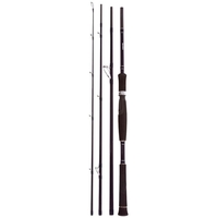 Snowbee 4 Piece Raptor Spinning Rod - 8ft 6in 8-35g - Midi