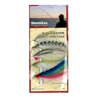 Snowbee Saltwater Flies - Bass Bait Special - 5 Pack
