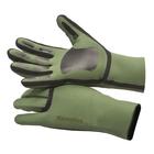 Image of Snowbee SFT Neoprene Gloves - Pine Green